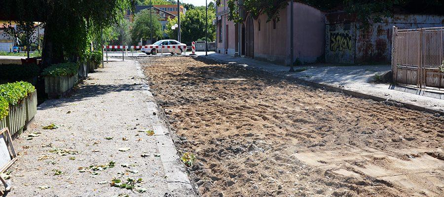 rekonstrukcija ulice Aleksinac