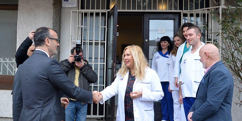 Biljana Đokić i Sem Fabrici