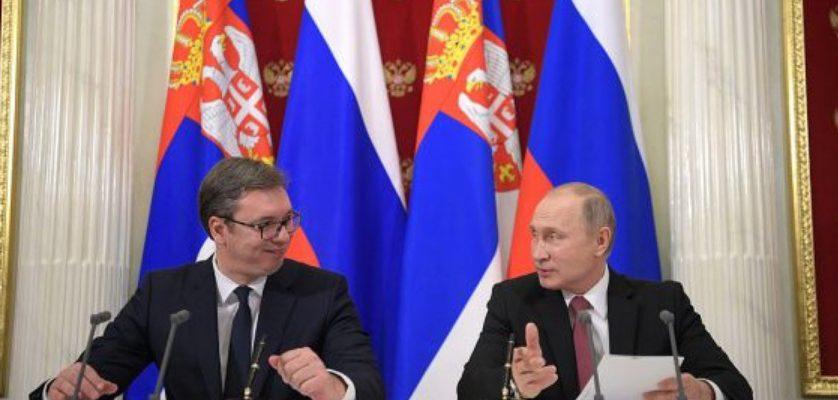 Putin, Vučić